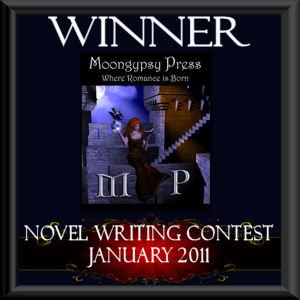 Moongypsy Press novel contest winners badge