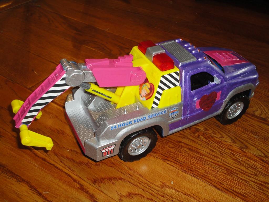 Princess tow truck