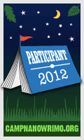 Camp NaNoWriMo participant badge