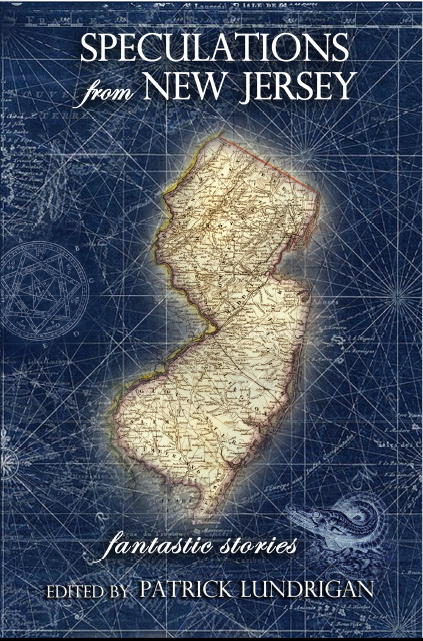 Cover for Speculations from New Jersey anthology