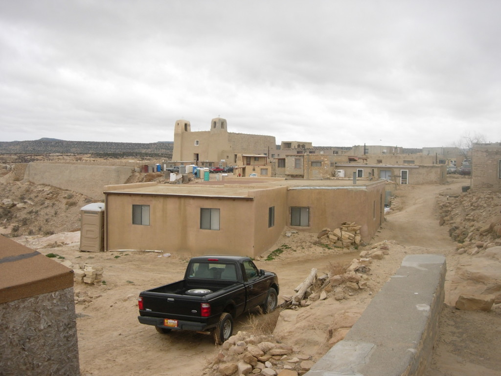 Acoma (with a newer Chevy)