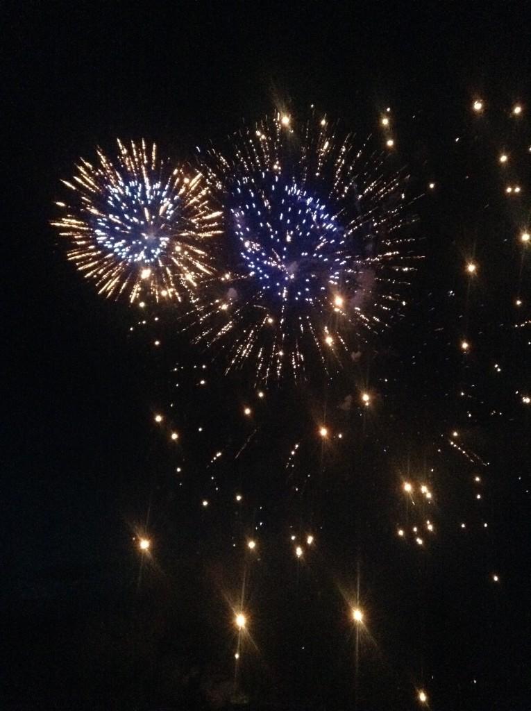 fireworks in Estes Park
