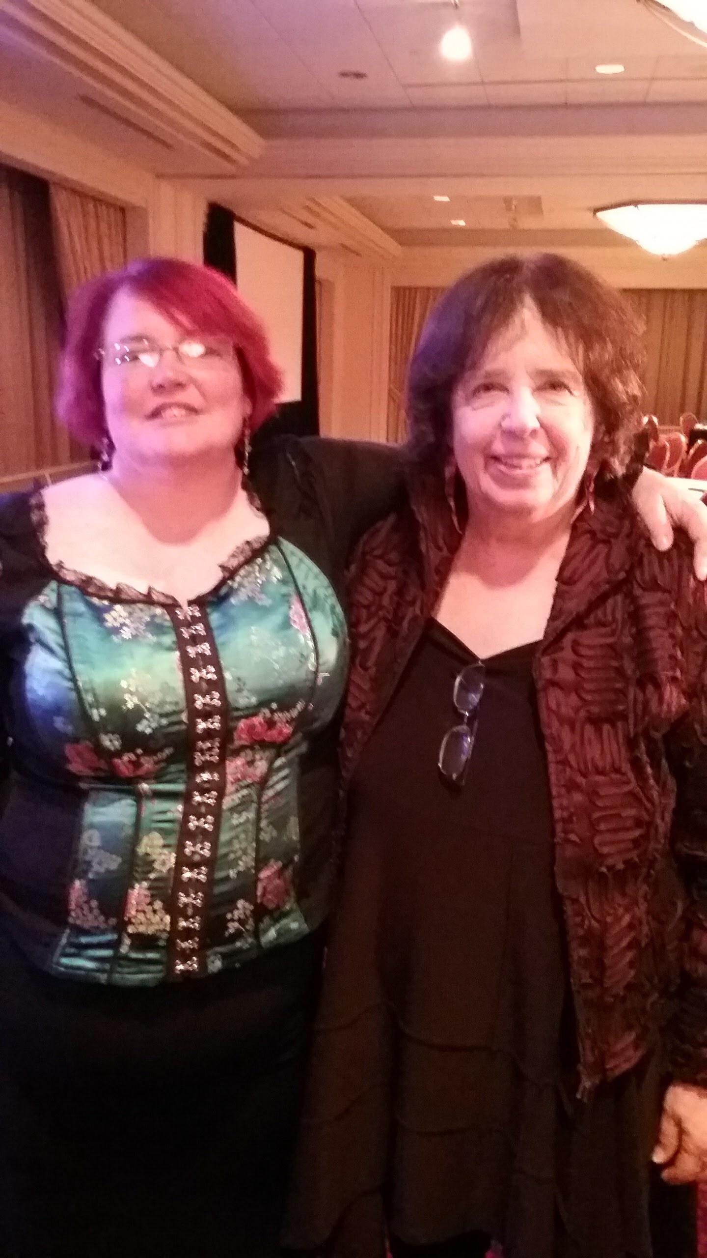 Erin with Jane Yolen