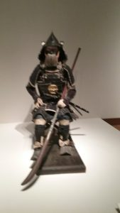 samurai with spear