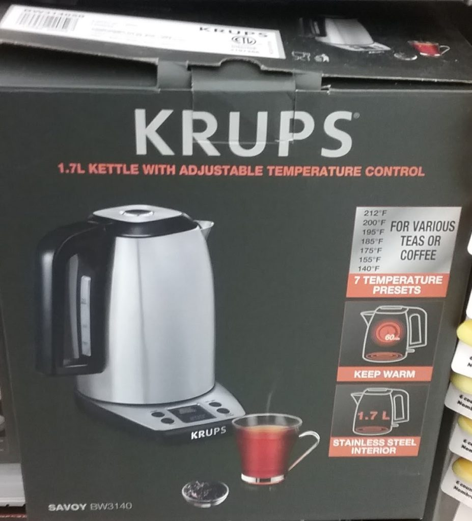 fancy electric kettle