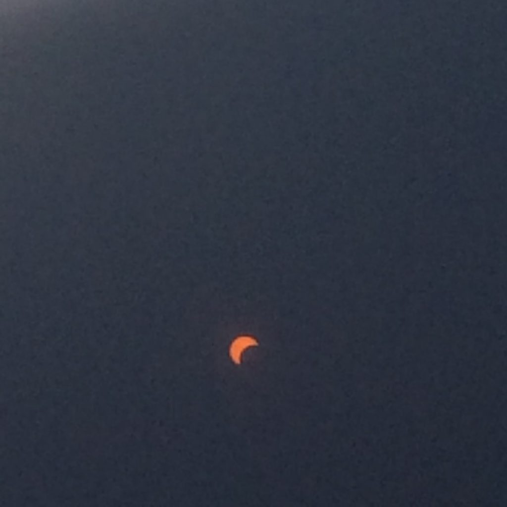 eclipse through filters