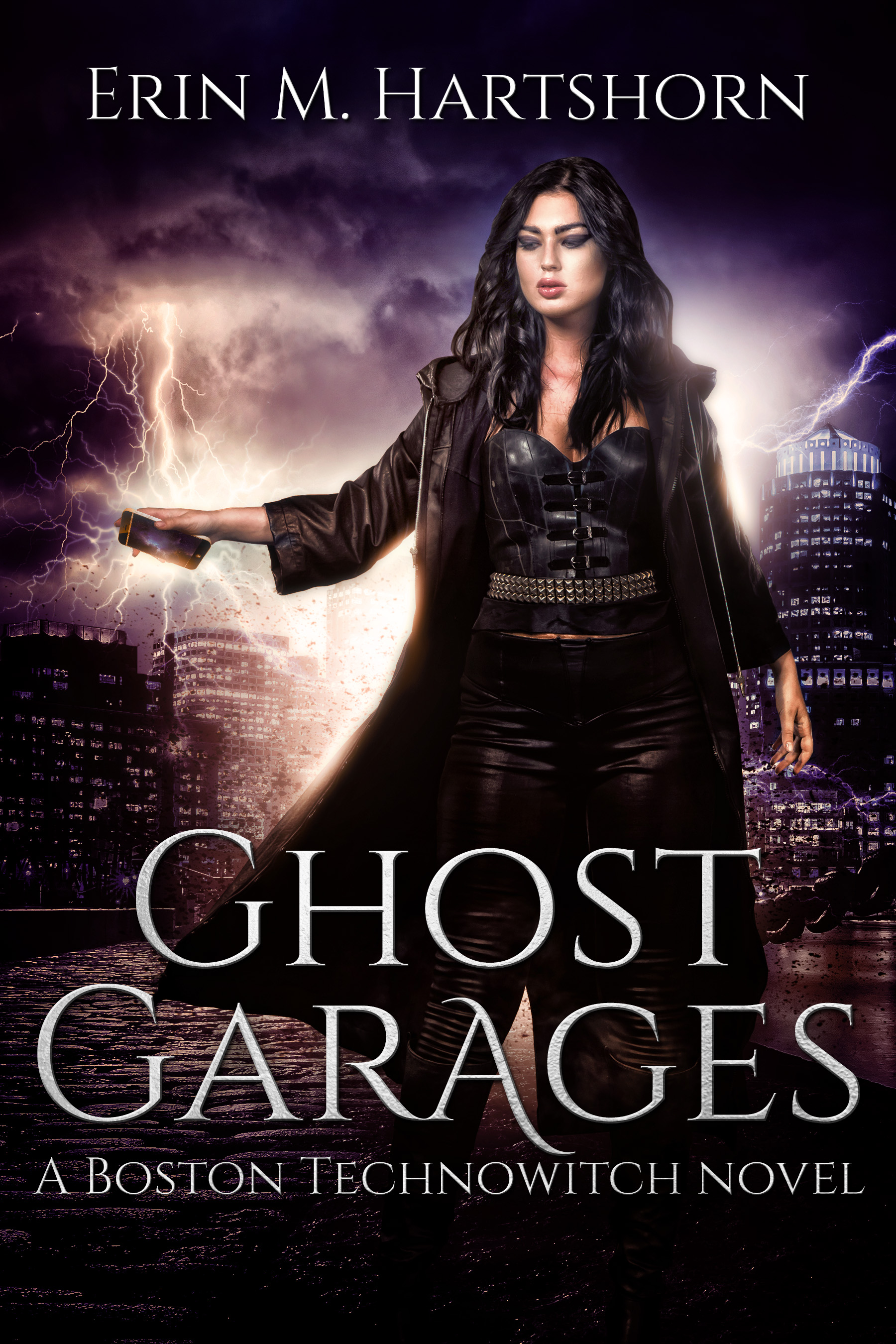 book cover of Ghost Garages